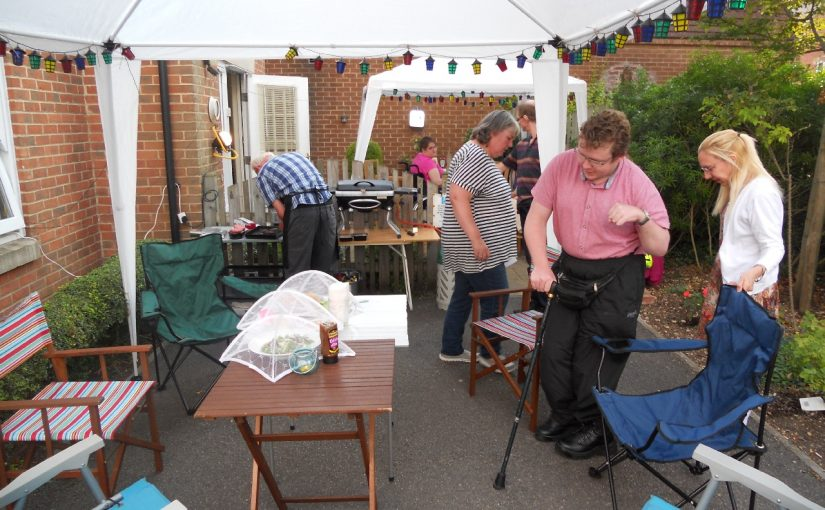 Barbeque at Simon and Sarah's