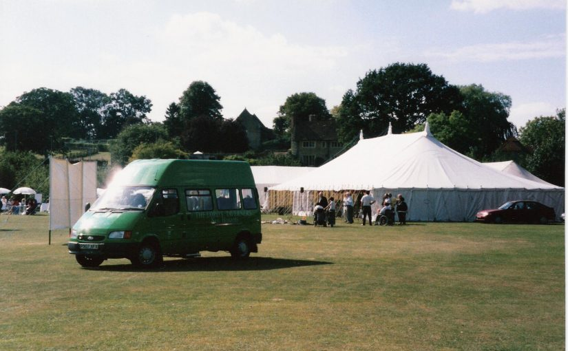 New Minibus presented at Charity Cricket Match