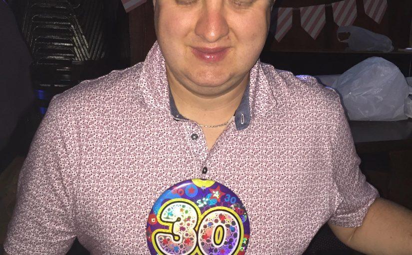 Danny's 30th Birthday Party