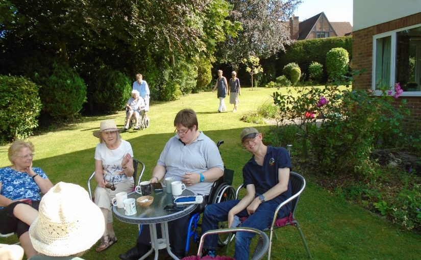 Wesley Memorial Church Garden Party in aid of Phab