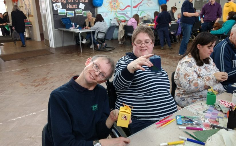 Crafts Day at Hounslow Phab