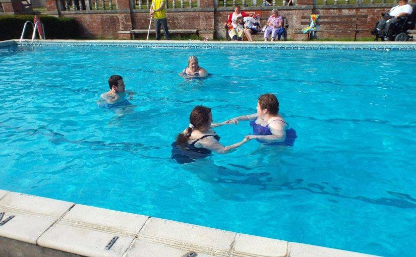 Swimming at Avon Tyrrell