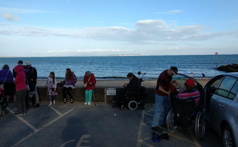 The seaside at Avon Beach