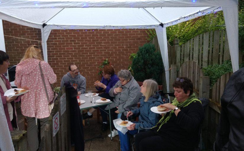 Barbecue at Simon and Sarah's
