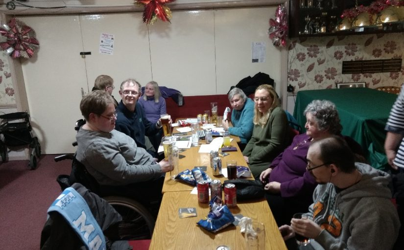 Night out at Donnington Social Club
