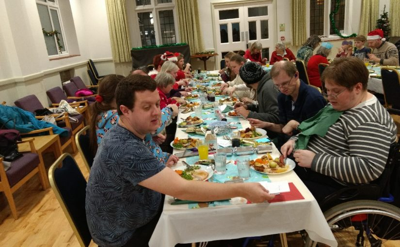 Christmas Dinner at Wesley Memorial