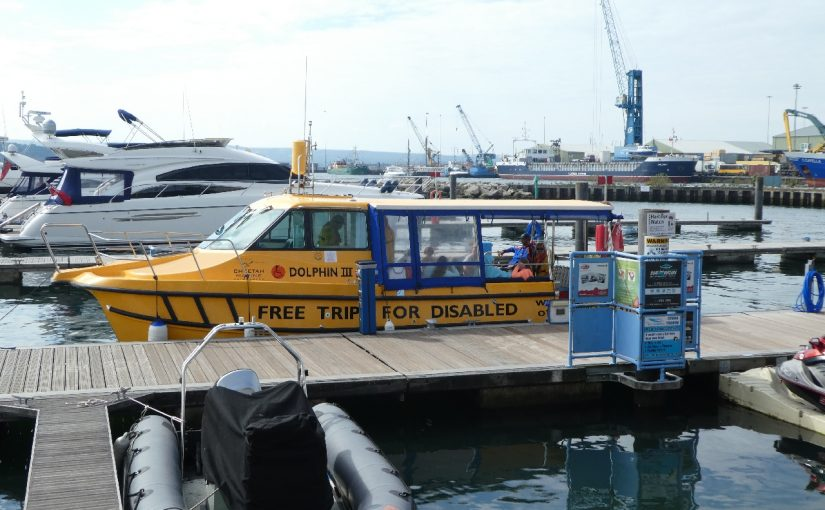 Holiday in Avon Tyrrell – Saturday – Poole Boat Trip and Fish and Chips