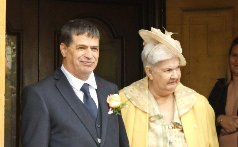 Leslie and Caroline Wedding
