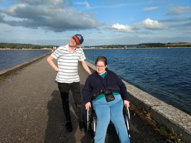 Walk at Farmoor Reservoir